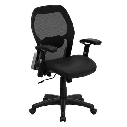 "Flash Furniture LFW42BLGG 27.25"" Contemporary Office Chair"