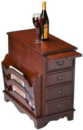 Butler 7038024 Plantation Cherry Series Casual  Magazine Rack
