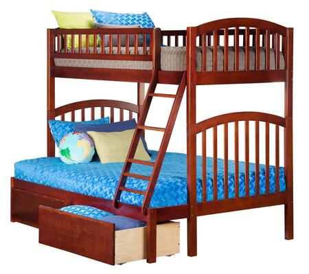Atlantic Furniture AB64244  Twin Over Full Size Bunk Bed