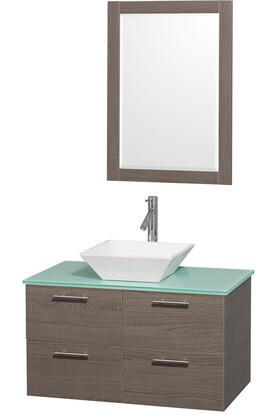Wyndham Collection WCR410036GOGRD28WH