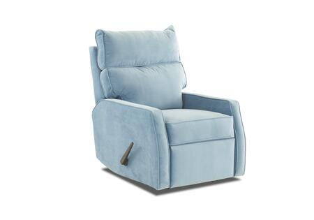 "Klaussner Fairlane Collection 82803H-RRC- 29"" Rocking Reclining Chair with Track Arms, Pillow Top Attached Back, Welt Detailing in"