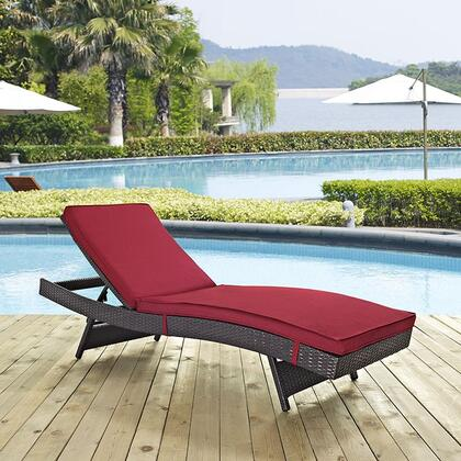 "Modway EEI2179EXPRED 78.5"" Water Resistant Lounge Chair"