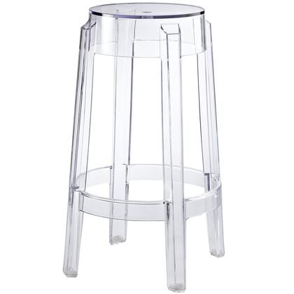 Modway EEI171CLR Casper Series Residential Not Upholstered Bar Stool