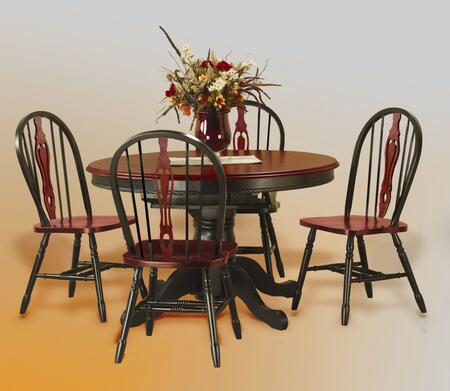 Sunset Trading DLUTBX4866124SBCH5PC Sunset Selections Dining