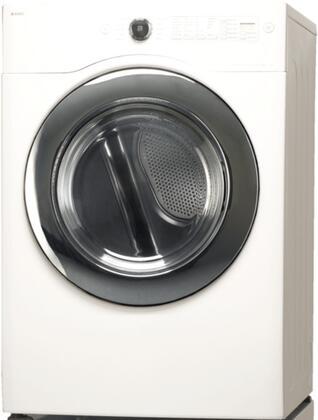 Asko TLS752XXLGW XXL UltraCare Series White Gas Dryer