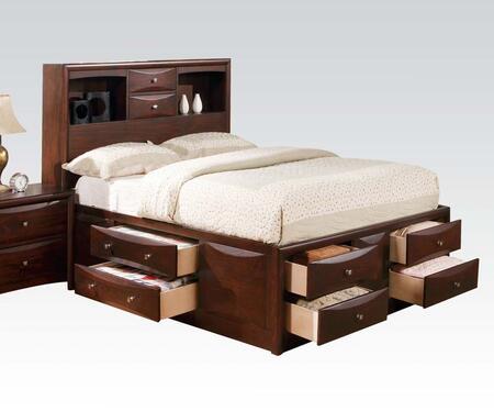 Acme Furniture 04070Q Manhattan Series  Queen Size Platform Bed