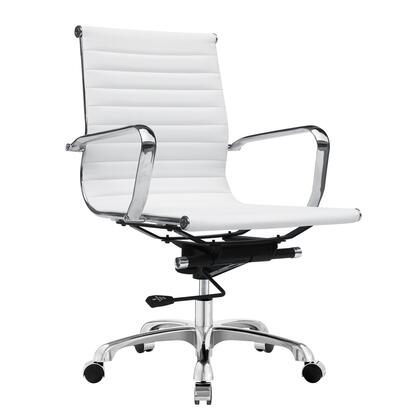 "Fine Mod Imports FMI1160WHITE 25"" Modern Office Chair"