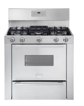 "Frigidaire Professional FPGF3685LS Gas Sealed Burner 36""5 No Yes Freestanding Range 