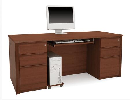 Bestar Furniture 99875 Prestige + executive desk including assembled pedestals