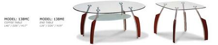 Global Furniture USA 138M3PC Coffee and Cocktail Tables