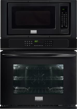 "Frigidaire Gallery FGMC2765P 27"" Wide Combination Wall Oven With 3.8 Cu. Ft. True Convection Oven, 2.0 Cu. Ft. Microwave, Steam Clean, Quick Preheat and Keep Warm Setting in"