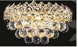 "J & P Crystal Lighting Firework Collection 99005W 12"" Wide Wall Light in X Finish"