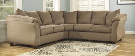 Milo Italia MI1627SEC2PCKIT2MOCH Tristian Living Room Sets