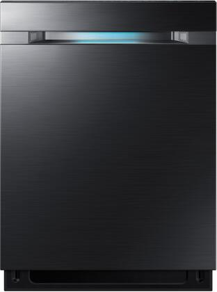 """Samsung Appliance DW80M9550Ux 24"""" Fully Integrated Dishwasher with 15 Place Settings, WaterWall 2.0 Technology, AutoRelease Door, and 42 dBA, in"""