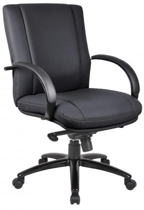 "Boss AELE62BK 27"" Contemporary Office Chair"