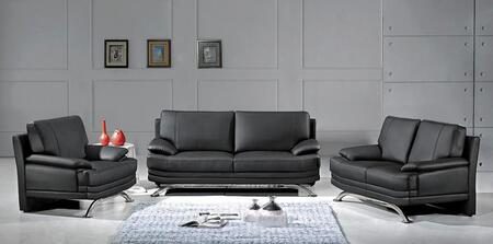 Global Furniture USA 9250SLCH Contemporary Bonded Leather Living Room Set