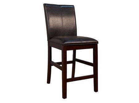 AAmerica PRSES324K Parson Series Residential Leather Upholstered Bar Stool