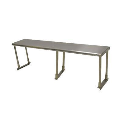 Single Deck KD Shelf with Three Posts