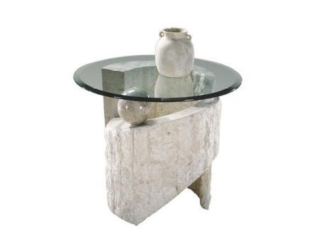 Magnussen 58504 Ponte Vedra Series Modern Round End Table