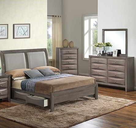 Glory Furniture G1505DDKSB2DM G1505 King Bedroom Sets