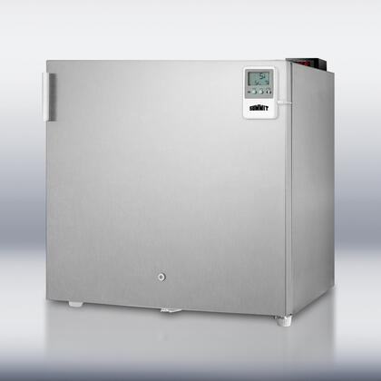 Summit FS20LCSS7MEDDT MEDDT Series  Freezer with 1.6 cu. ft. Capacity in Stainless Steel