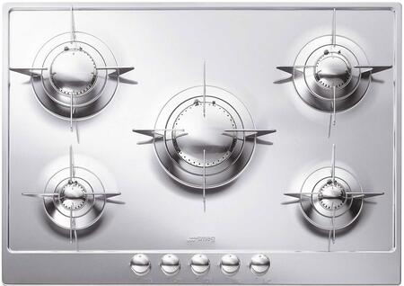 Smeg PU75 Piano Design Series Gas Sealed Burner Style Cooktop  Appliances Connection