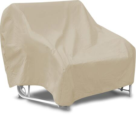 "PCI by Adco 54"" Two Seat Glider Cover with UV Treated, Secured with Velcro Ties, Water Resistant and Heavy Duty Vinyl Fabric in"