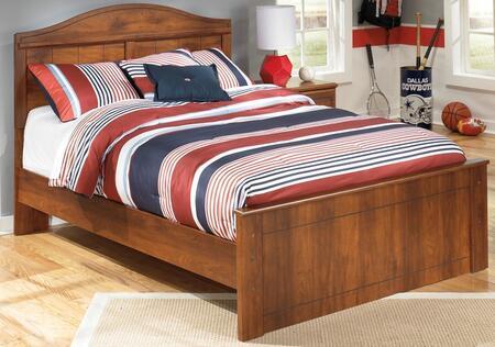 Milo Italia Vasquez BR355807578TM x Size Panel Bed in Warm Brown