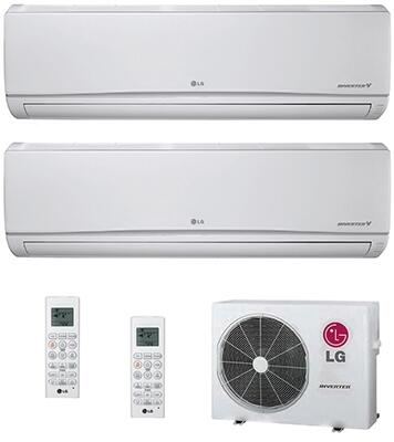 LG 749417 Dual-Zone Mini Split Air Conditioners
