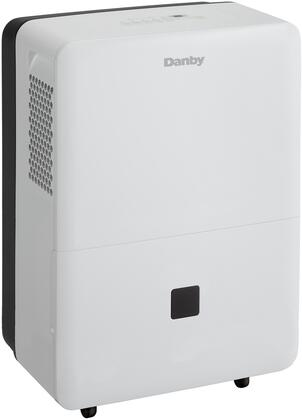 Danby DDR0XXBDWDB Energy Star Compliant Dehumidifier with 4 Castors, Auto Restart, Auto De-Icer, Washable Air Filter, 2 Fan Speeds and Electronic Controls, in White
