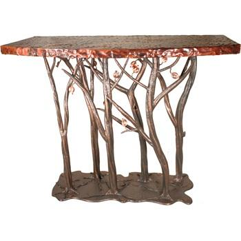 Stone County Ironworks 952-089 Enchanted Forest Console Table