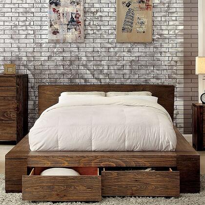 Furniture of America CM7629QBED Janeiro Series  Queen Size Bed