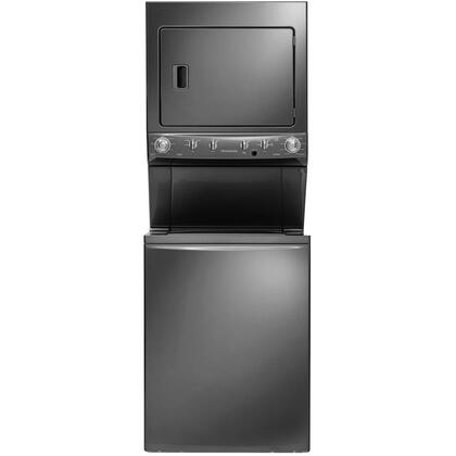 """Frigidaire FFLG4033Q 27"""" Energy Star Certified Gas Washer/Dryer Laundry Center with Super Capacity, End-Of-Cycle Signal, Timed Dry Cycles and Fabric Softner Dispenser in"""