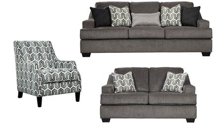 Signature Design by Ashley 65603SLAC Gilmer Living Room Sets