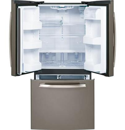 Ge Gns23gmhes 33 Inch French Door Refrigerator With 22 7