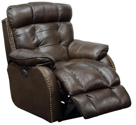 Catnapper 647737128309308309 Patterson Series Leather Metal Frame  Recliners