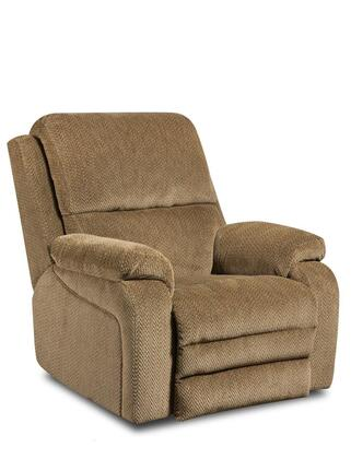 Chelsea Home Furniture 1895707981PWR Oakdale Series Transitional Fabric Wood Frame Rocking Recliners