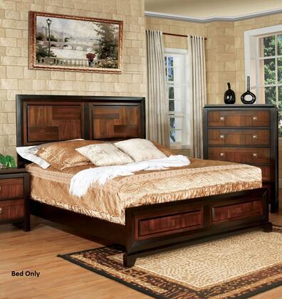 Furniture of America CM7152CKBED Patra Series  California King Size Bed