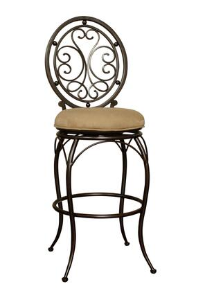 American Heritage 130846PBC07 Opus Series Residential Fabric Upholstered Bar Stool