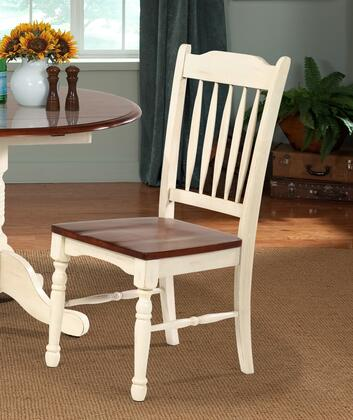 AAmerica BRIMB267K British Isles Series Transitional Not Upholstered Solid Hardwood Frame Dining Room Chair