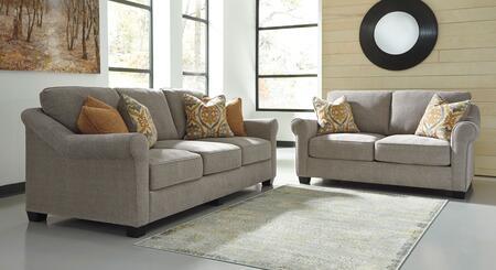 Milo Italia MI4416SLSLAT Barbara Living Room Sets
