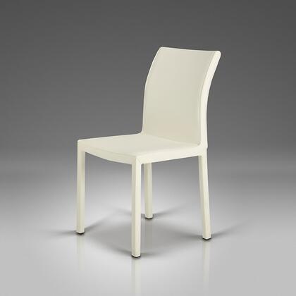 VIG Furniture VGLEY06WHT Modrest Series Modern Metal Frame Dining Room Chair