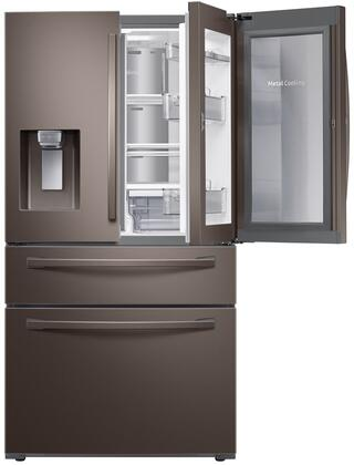 Samsung Rf28r7351 36 Quot 4 Door French Door Refrigerator With