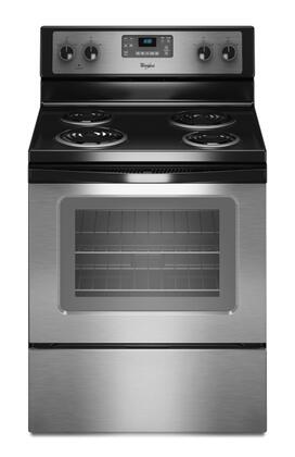"""Whirlpool WFC310S0AS 30"""" Electric Freestanding"""