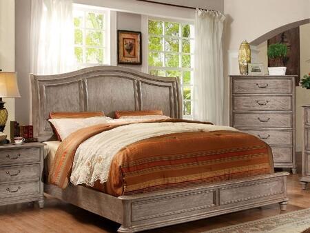 Furniture of America CM7611QBED Belgrade II Series  Queen Size Bed