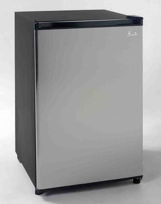 Avanti RM4536SS  Freestanding Counter Depth Compact Refrigerator with 4.5 cu. ft. Capacity,  Field Reversible Doors