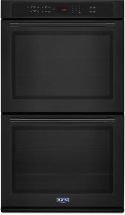 "Maytag MEW9630Fx 30"" Double Wall Oven with True Convection, 10 cu. ft. Total Capacity, Precision Cooking System, Variable Broil,  True Convection with Fan, and Incandescent Light"