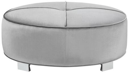Coaster 505884 Caldwell Series Contemporary Fabric Wood Frame Ottoman