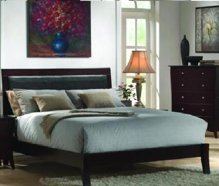 Donco AB006Q  Queen Size Platform Bed