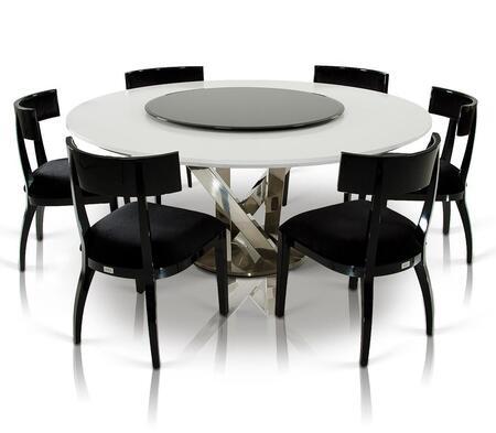 Vig Furniture Vgunac833180whtbch